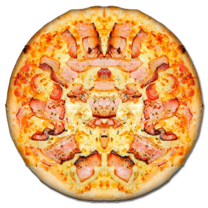 Pizza-Bacon